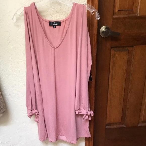 Lulu's Dresses & Skirts - Lulu's Glory of Love Mauve Shift Dress